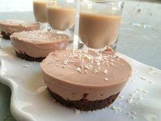 Baileys Chocolade kwarktaart met Chocolate chip cookies