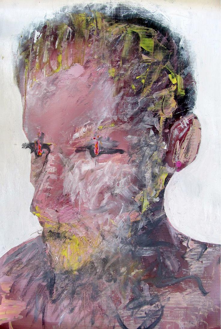 espacioBRUT introducing BORDERLINE/ Pinturas inéditas 2015 by Felipe Bracelis first exhibition in Europe