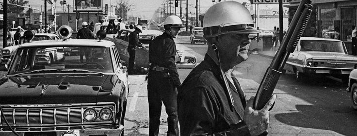 Watts riot 1965.