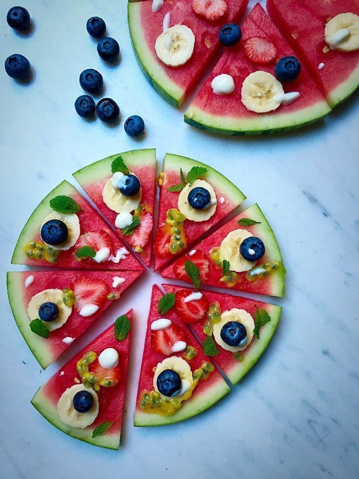 #meyve #pizza #meyve #salata #vegan