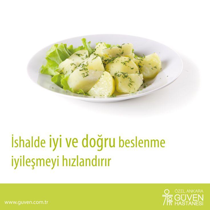 İshalde iyi ve doğru beslenme iyileşmeyi hızlandırır. http://www.guven.com.tr/haber_detay.php?a=ishalde-beslenme-tedavinin-onemli-parcasi
