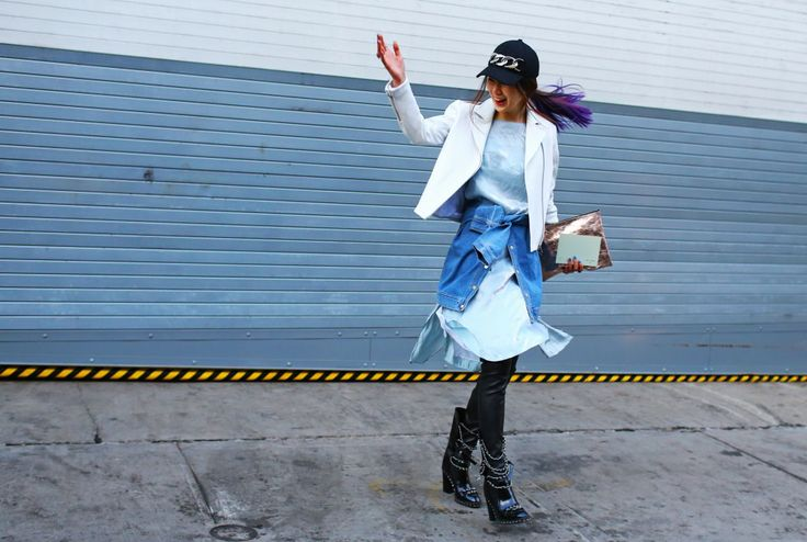 See some great street style from Fall NYFW 2014 here in today's SCLStyle.com post: