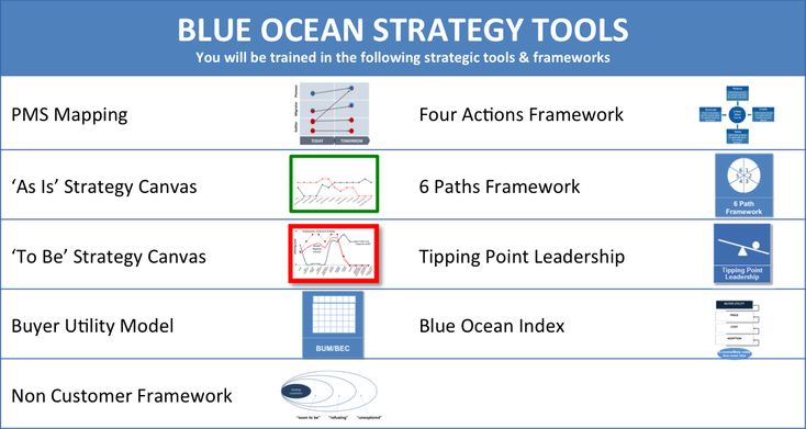 what is the blue ocean strategy commerce essay Dealing with those challenges in form of hurdles with tipping point leadership is the key to make blue ocean strategy happen in action build execution into strategy the sixth principle of the blue ocean strategy is about building commitment and trust into the strategy from the start.