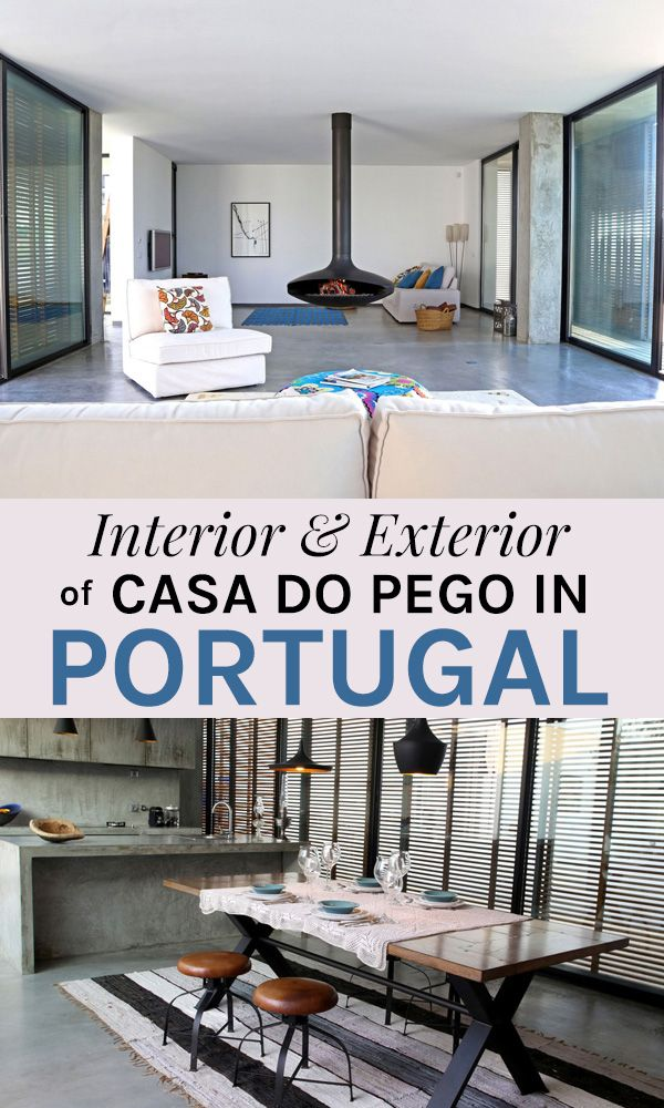 A Sunny Terrace In The Luxurious Casa Do Pego In Portugal, Comporta
