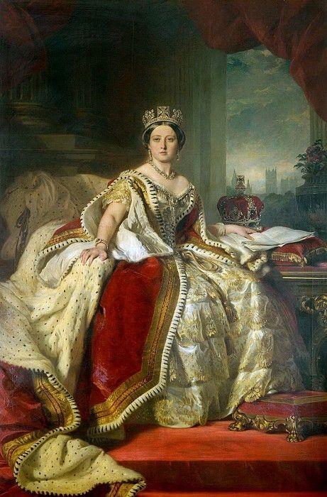 65.Королева Виктория (1819-1901).  Франц Ксавьер Винтерхальтер (1805-1873)