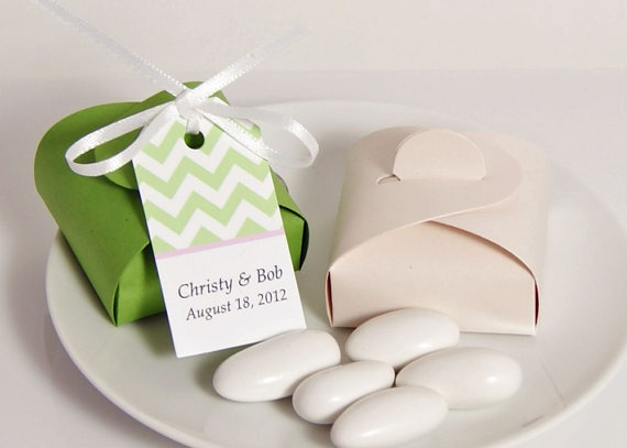 Jordan Almond Wedding Favor Boxes  Candy Boxes by WeddingAmbience, $15.00