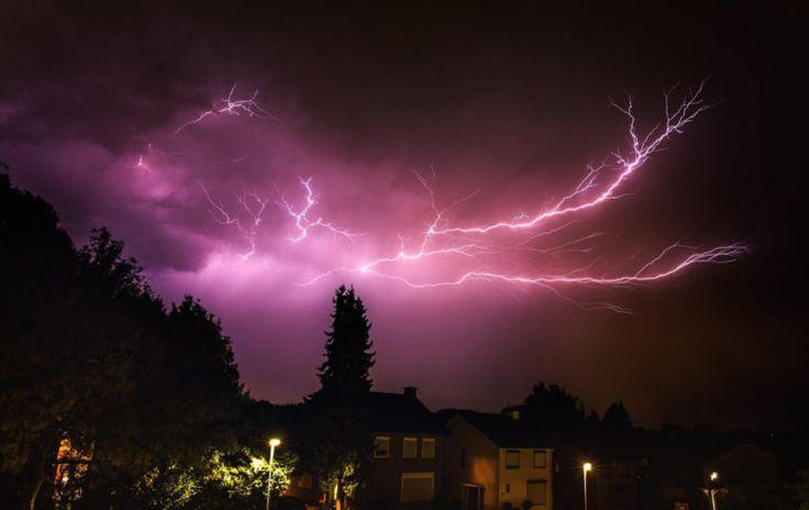 Tips voor het fotograferen van onweer