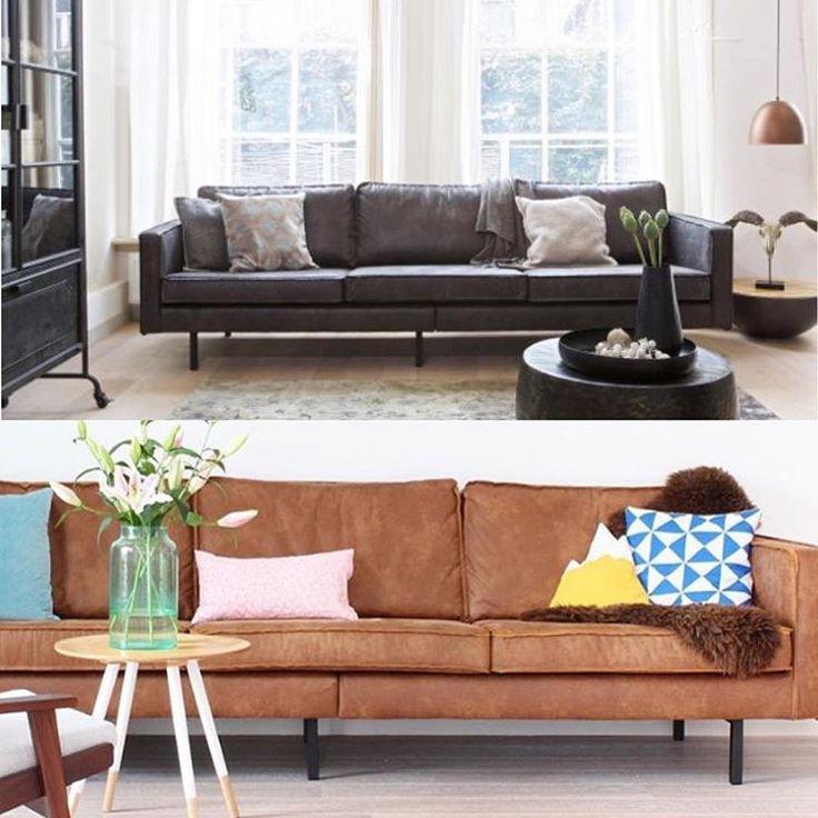 Den kule Rodeo-sofaenKjem også som 2,5 seter, lenestol og puff - skinn cognac, skinn svart, fløyel lys grå og grå. Om 3-6 veker kan den vere i din stove Ta ein titt i kategori Møbler på www.romforstil.no #romforstil #sofa #lenestol #interior4all #tipstilhjemmet #cognacsofa #bepurehome #interiørinspirasjon #skinnsofa #stue #livingroom #passion4interior #bobedre #bonytt #kkliving #rom123 #inspirasjonsguidennorge #inspiremeinterior #interiørmagasinet
