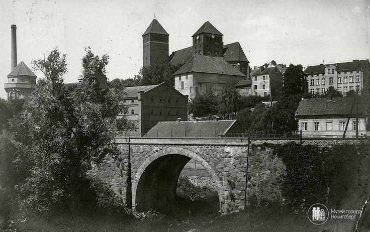 Rastenburg — Kętrzyn. Blick auf Ordensschloss. Photo ca. 1920 — in Ketrzyn.