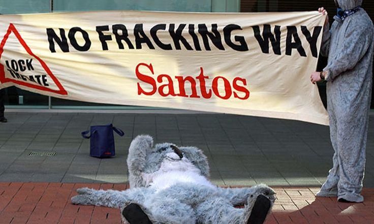 Santos fined after coal seam gas project contaminates aquifer 'with uranium'