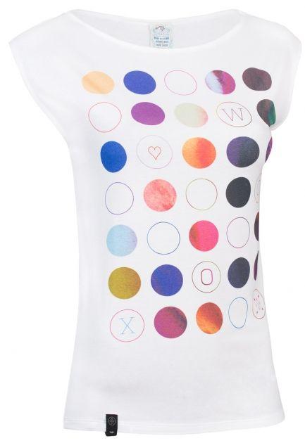 Punctatus Albus - Tyhle puntíky nejsou tím, čím se zdají být. Vyvinuli jsme barvu, která reflektuje vnitřní nádheru. Tedy nikoli potisk, ale perforace, cedníček, rentgen chcete-li, který dá nahlédnout do vašeho psyché. Co která barva znamená, si můžete vymýšlet podle toho, na koho budete chtít udělat dojem.
