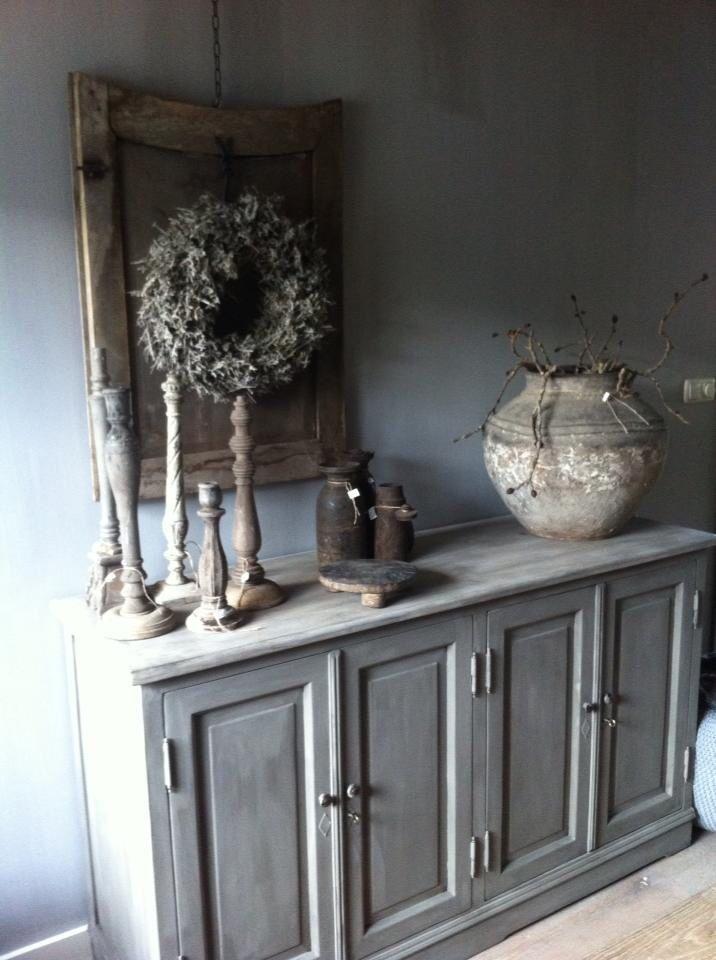 25 beste idee n over dressoir spiegel op pinterest for Decoratie op dressoir