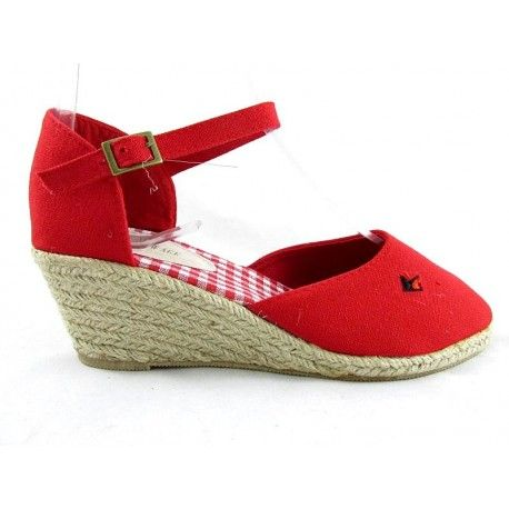 ESPADRYLE RED