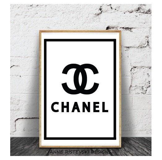 Chanel, Chanel печать, Chanel Wall Art, Chanel Произведение, Chanel Искусство, печати искусства, современные принты, современного искусства, Цифровая Загрузка, Произведение