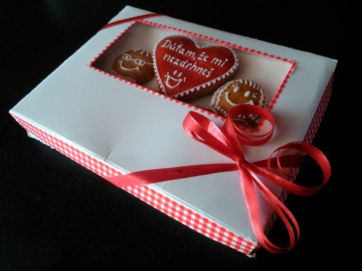 Sweet present for your love Sladký dárek pro tvou lásku k Valentýnu