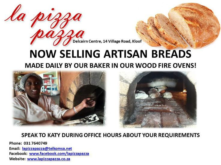 We now bake artisan breads in our wood fire ovens!