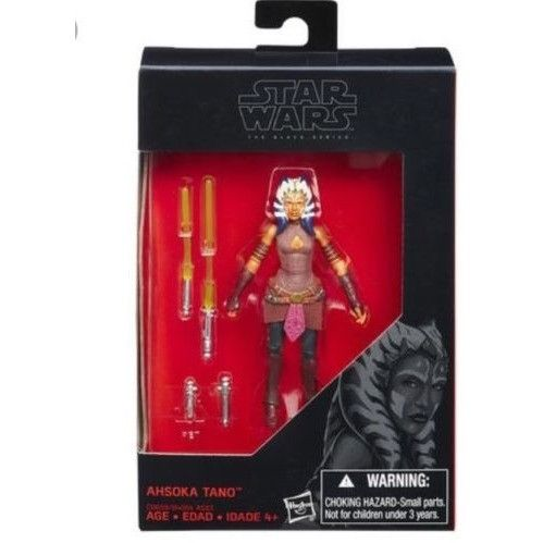 Star Wars 3.75 Black Series Ahsoka Tano Walmart Exclusive.