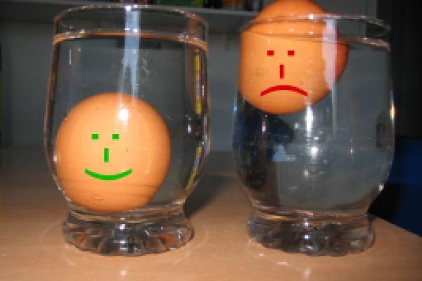 Eiertest- eggs still use or dump