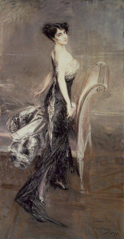 Portrait d'une Lady (1912) by Giovanni BOLDINI
