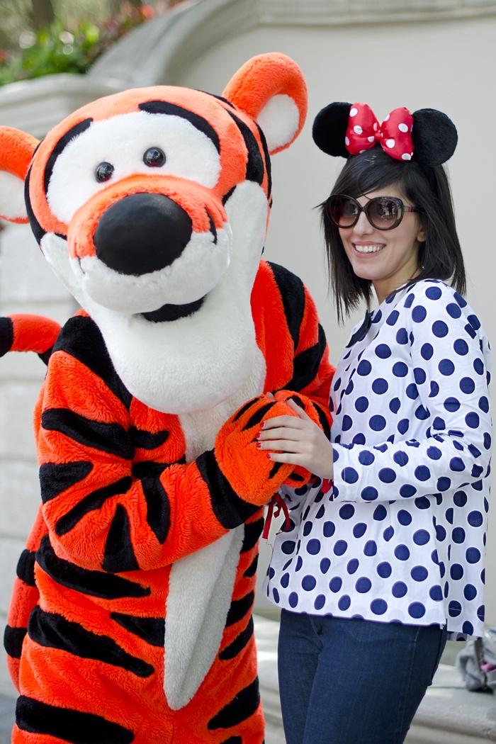 Disneyland Paris, 20 Anniversary. More on www.pursesandi.net #disney #disneyland #disneylandparis #fantasy #happy #pursesandi #minnie #paris #parigi #love #polkadots #lauracomolli #tigro