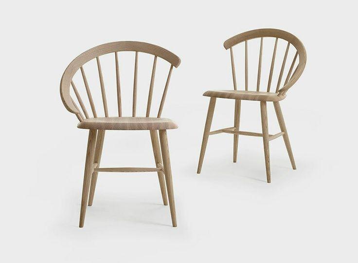 Open Arch chair by Lundbergs Möbler