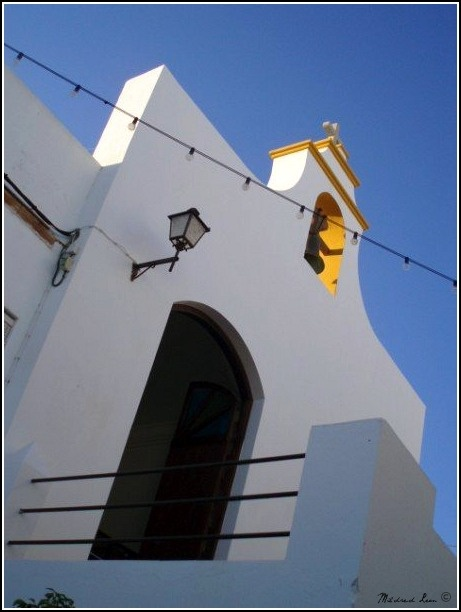 Church - Conil, Spain: Conil De, Border, Light, Coast
