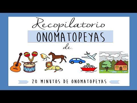Sonidos de onomatopeyas para niños | Ejercicios discriminación auditiva - YouTube