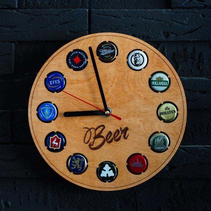 Часы-держатель для пробок