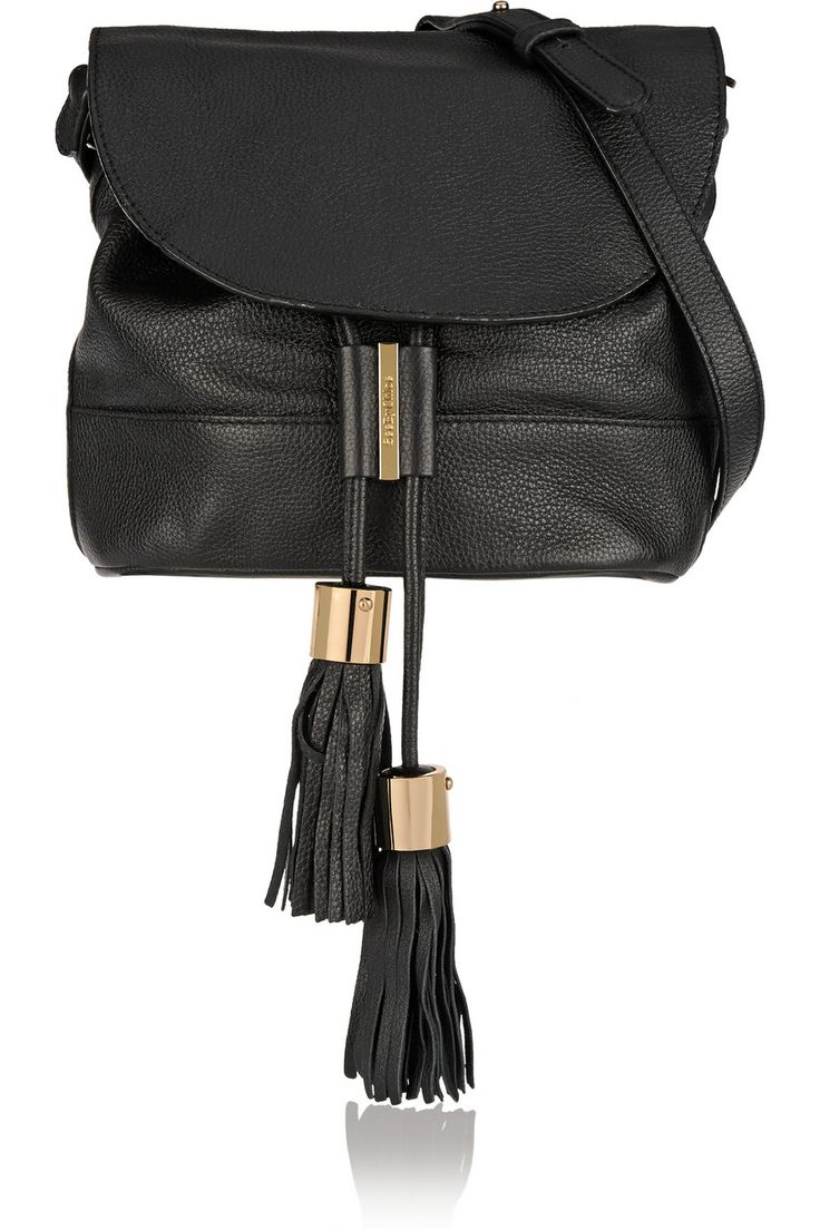 See by Chlo¨¦ | Vicki textured-leather shoulder bag | NET-A-PORTER ...
