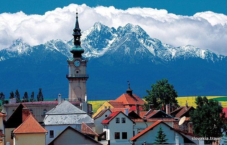 Slovakia, Old City Kežmarok