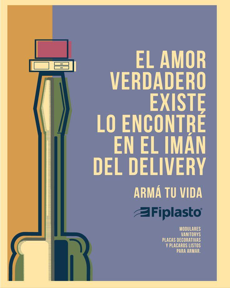 AMOR VERDADERO FIPLASTO ARMÁ TU VIDA  #amor #iman #delivery #muebles