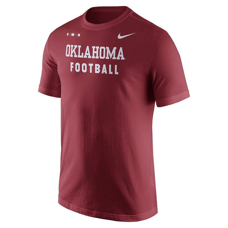 Men's Nike Oklahoma Sooners Football Facility Tee, Size: Medium, Red Other