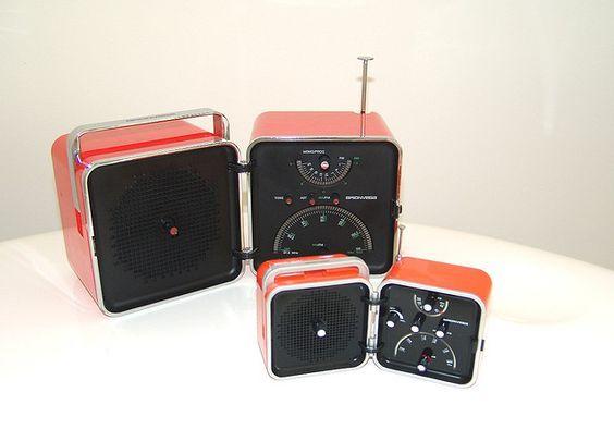 radio cubo- Richard Sapper y Marco Zanusso -