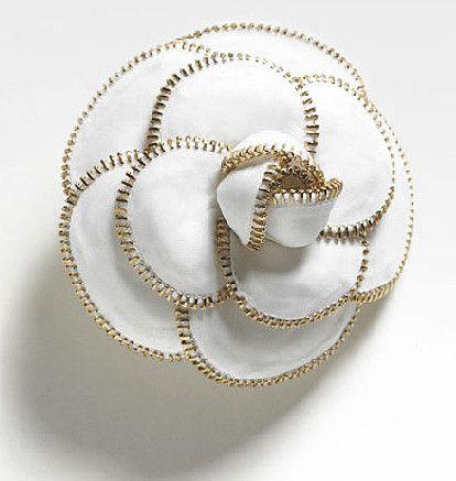 chanel camellia drawing | Colección Chanel Otoño Accesorios (I)