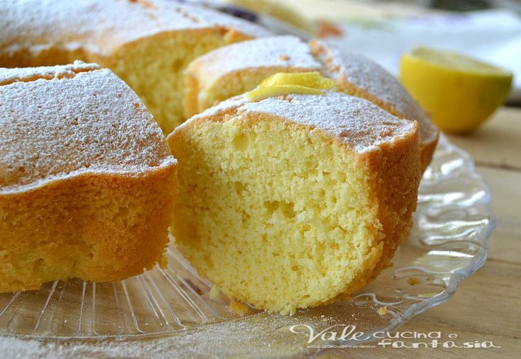Ciambella di riso al limone ricetta dolce leggera