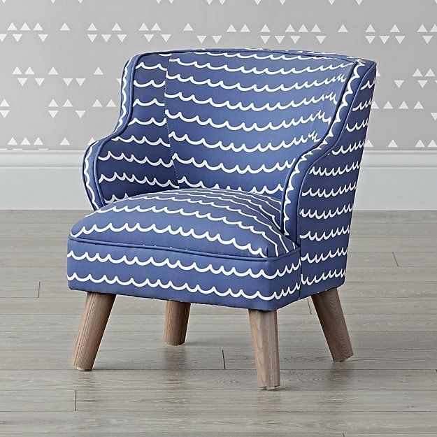 Petite amie sara upholstered teen chair