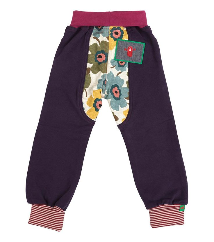 Meadow Track Pant - Big, Oishi-m Clothing for kids, Autumn 2017, www.oishi-m.com