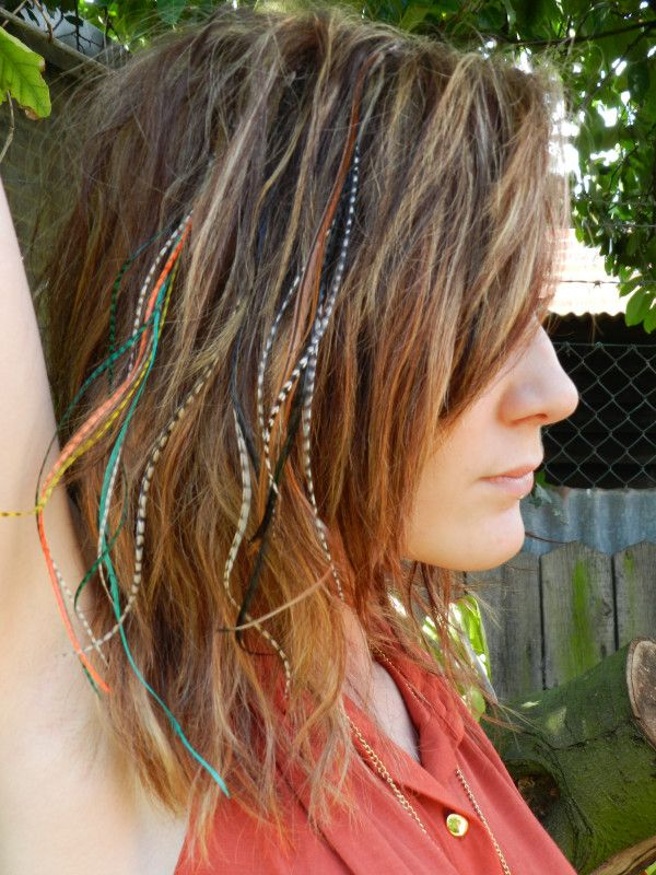 Pin By Klaycie On Hair Feathers In 2019 Feathered