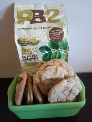 PB2 cookies - will sub for sweetener and flour