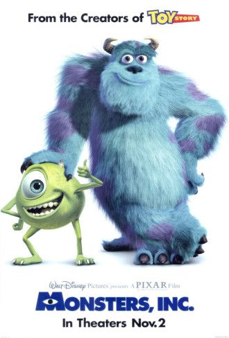 Monsters, Inc. Posters - AllPosters.co.uk