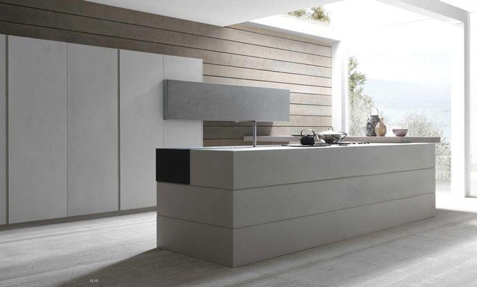 Modulnova Cemento Kitchen Design | Modern Italian Design @ DesignSpaceLondon http://www.designspacelondon.com/