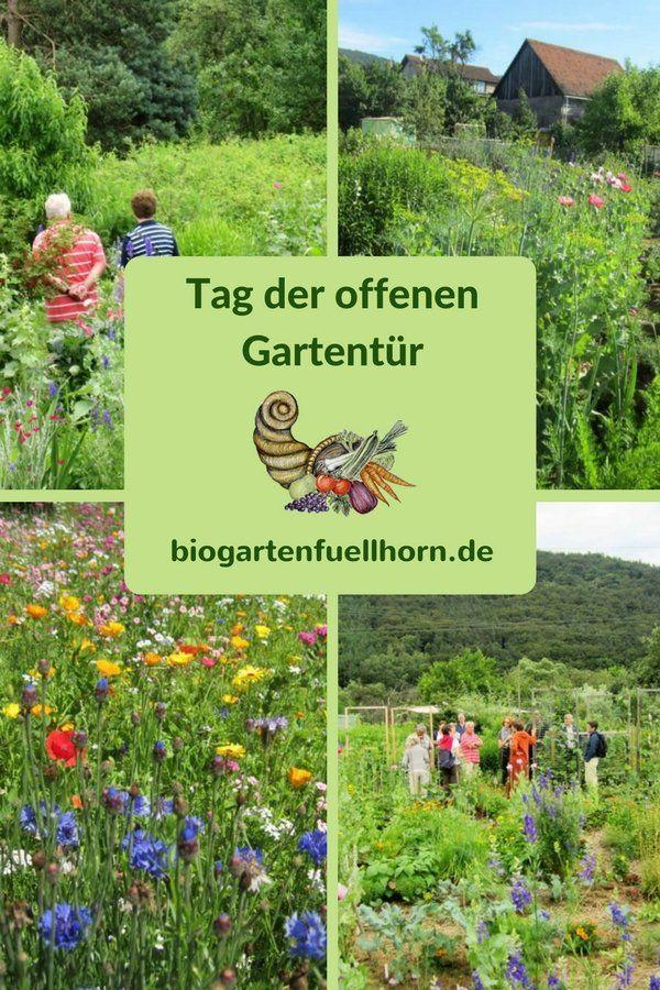 Tag der offenen Gartentür im Biogarten Füllhorn #garten #tag der offenen Gartentür #selbstversorger