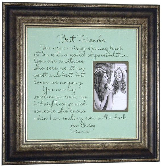Friendship Picture Frames With Quotes: Best 25+ Bridesmaid Quotes Ideas On Pinterest