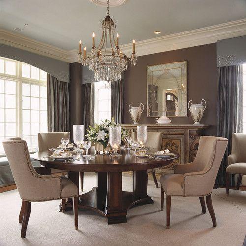 die besten 20+ taupe dining room ideen auf pinterest | braungraue, Esszimmer dekoo
