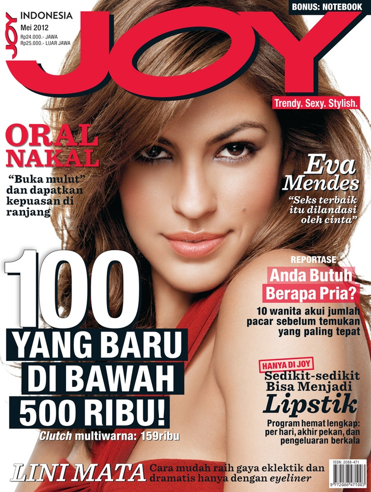 JOY Indonesia May issue.  #EvaMendes