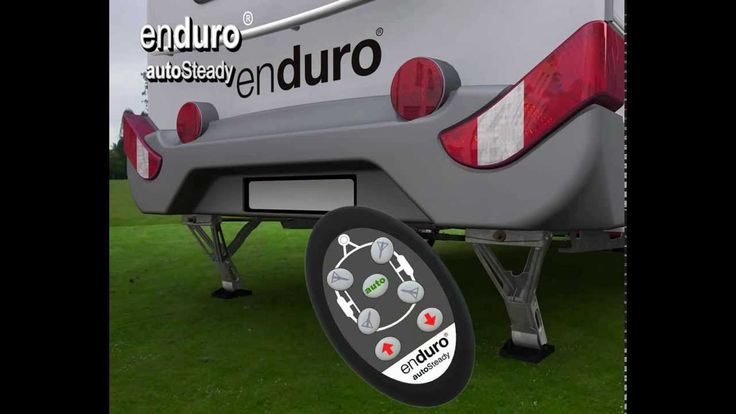 Stabilisateur de caravane autoSteady vendu 980 € chez Euro-Expos - YouTube