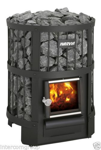 Woodburning-Sauna-Stove-Harvia-Legend-150-Stones-Included-Wood-Burning