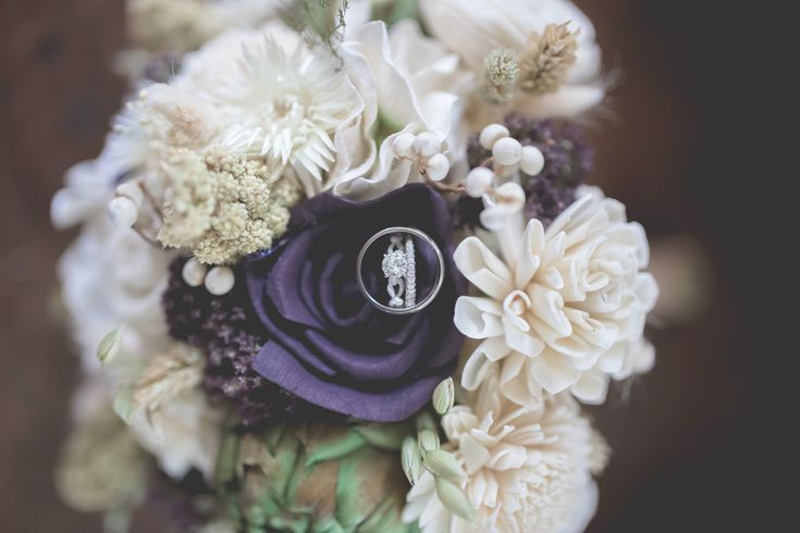 Silk Flower Wedding Bouquet looks so real you can't even tell they are fake flowers!