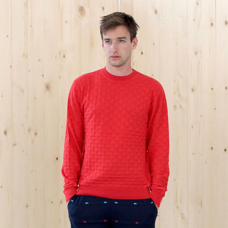 sweater BOLSHOI red