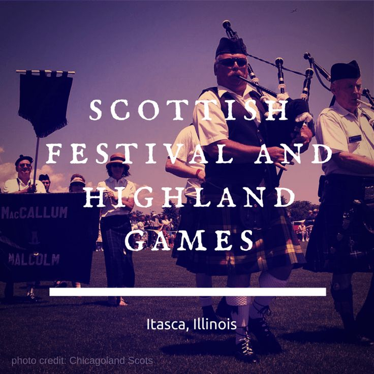 Northwest Suburbs Chicago Map%0A Family Fun Review  Scottish Festival and Highland Games  Itasca
